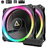 ANTEC アンテック Prizm 140 ARGB 2+C [RGBファン]