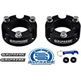 "Supreme Suspensions - Toyota Tacoma Lift Kit 3"" Front Lift Aircraft Billet Strut Spacers (Black)"