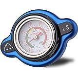 Summit High Pressure Radiator Cap with Temperature Gauge - 1.8 kg (1.8 Bar, 25.6psi), Fits select BETA, HUSABERG…