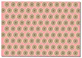 Briday Wrapping Paper - Coin Pattern Pink Pack of 2