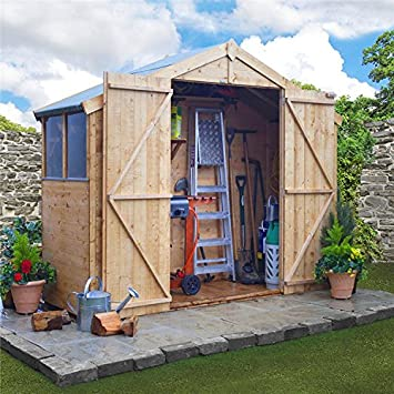 billyoh 4000 tongue and groove apex shed 8ft wide range 3x8