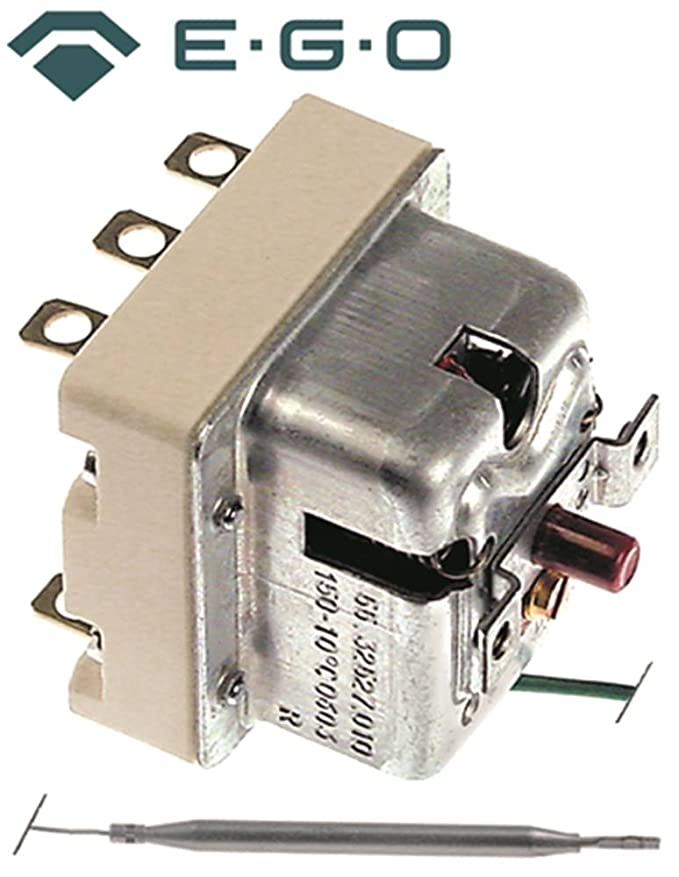 Seguridad Termostato EGO Tipo 55.32527.010 para Meiko de cinta ...