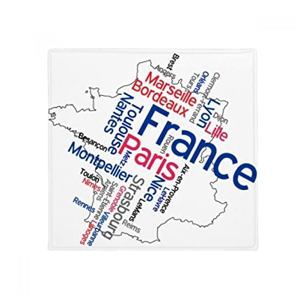 Map Of France With City Names.Amazon Com Diythinker Words City Name France Mark Map Anti Slip