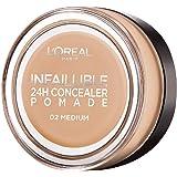 L'Oreal Paris Infallible Concealer Pomade, 15 g, 02 Medium