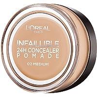 L'Oréal Paris Infaillible 24H Concealer Pomade Kapatıcı 02 Medium, Koyu Ton