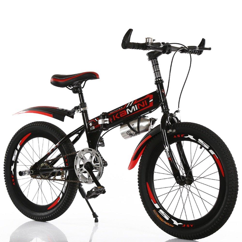 美しい 家18/20/22インチ6-8-10-12歳の子供用自転車、男の子と女の子の折りたたみ式シングルスピード小学校の自転車(多色オプション) (色 : 赤, サイズ さいず : 22 inches) B07D1PNW9C 22 inches|赤 赤 22 inches