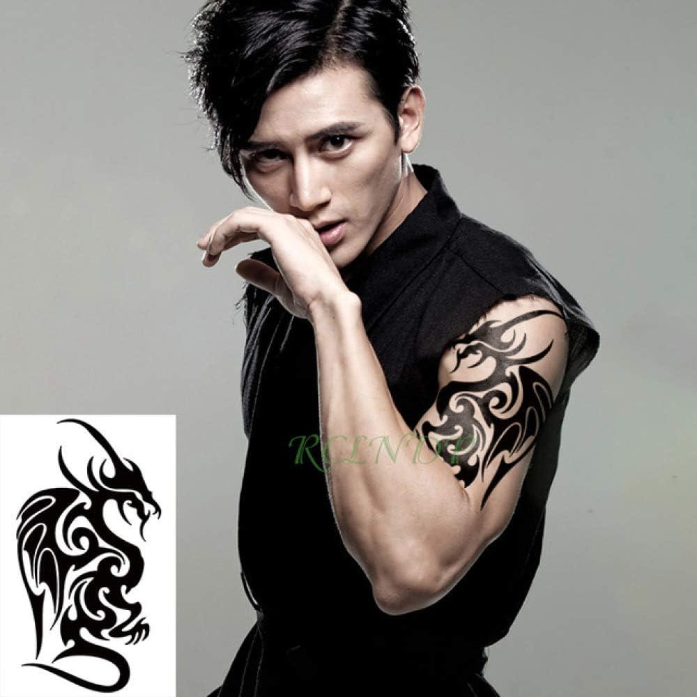6pcs Impermeable Tatuaje Lobos Etiqueta Jon Lobo de la Nieve ...