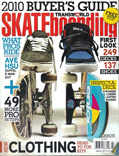 Skateboarding Holiday 2010 Buyer's Guide What Pros Ride First Look 249 Decks 137 Shoes