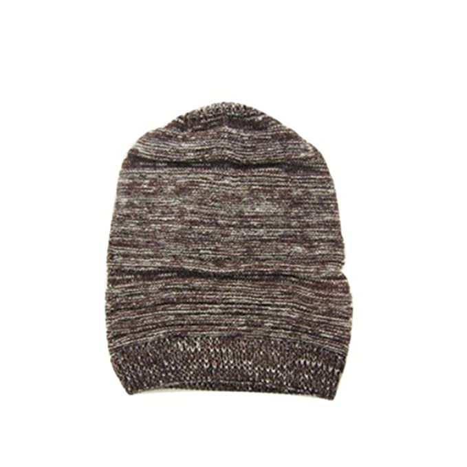 ad964655a2d Hot Fashion Slouch Baggy Beanie Cap Slouchy Skull Hat Mens Womens Knit Hat ( Coffee) at Amazon Women s Clothing store