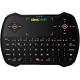 XBMCMart LED Backlit Wireless Touchpad & Keyboard for PC, Android TV Box, and Raspberry Pi. (Black)