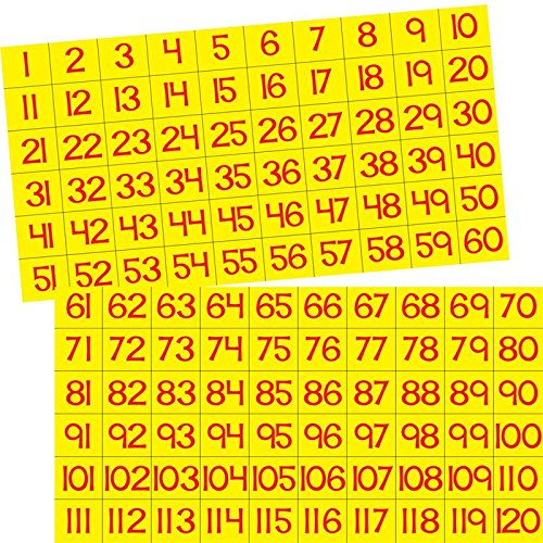 Really Good Stuff Our Counting Grid Pocket Chart