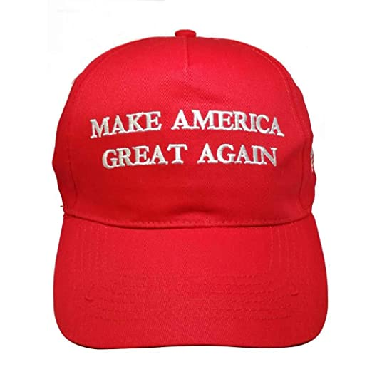 a1087f31fde85 Image Unavailable. Image not available for. Color  Make America Great Again  hat Trump Hat Adjustable Baseball Cap(red)