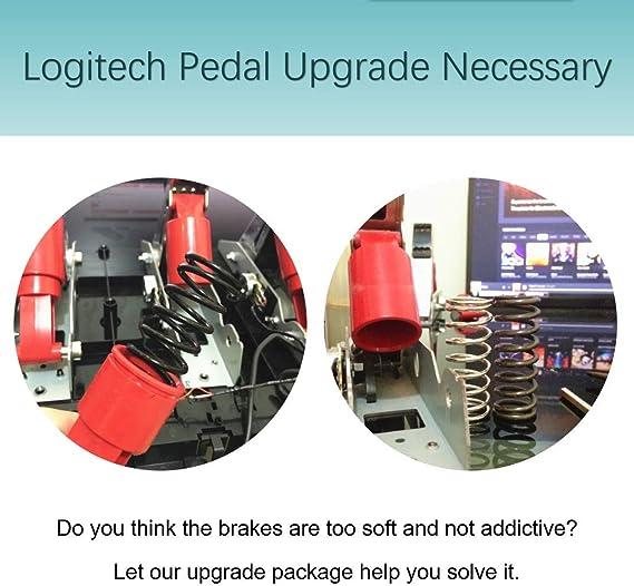 G29 G27 SHEAWA Kit de modification de p/édale universel pour volant Logitech G25