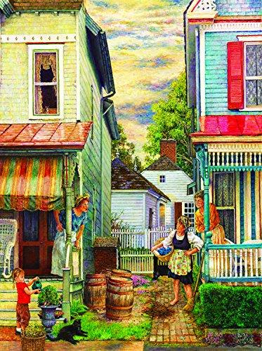 Porch Gossip 1000 Piece Jigsaw Puzzle by SunsOut