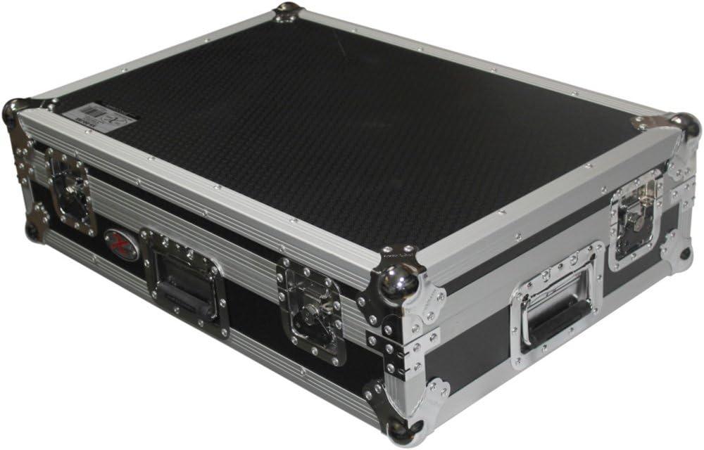 Prox xs-ddjsx-wlt designed for pioneer ddj-sx controller flight road gig ready dj case w/laptop shelf