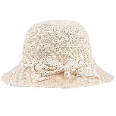LOPILY Sombrero de Las señoras Sombrero de Pescador de Verano ...