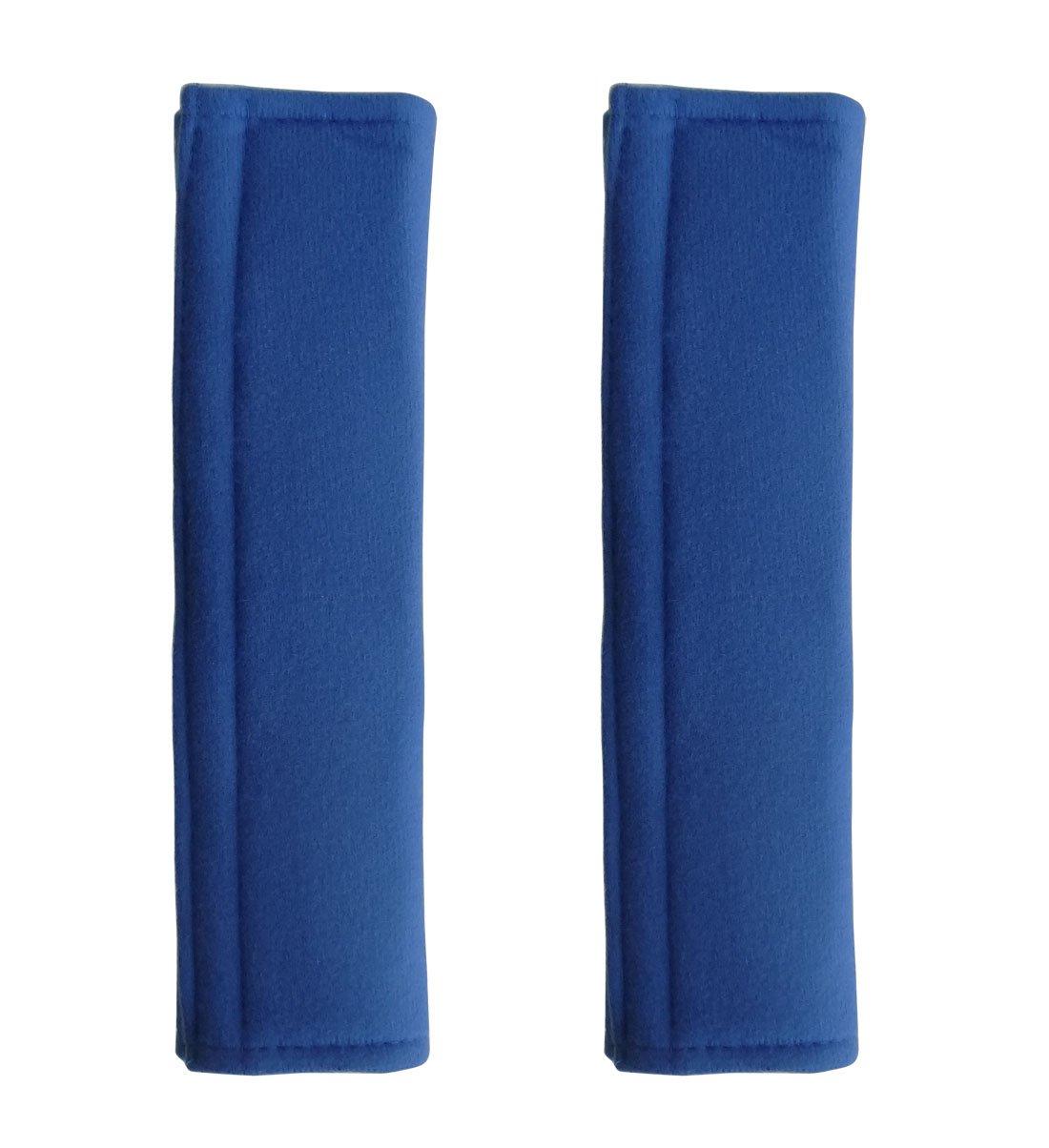Penta Angel 柔らかい快適な厚い自動車シート安全ベルトカバー肩パッド 男性女性用  Blue, 2PCS B01L1EEJPK