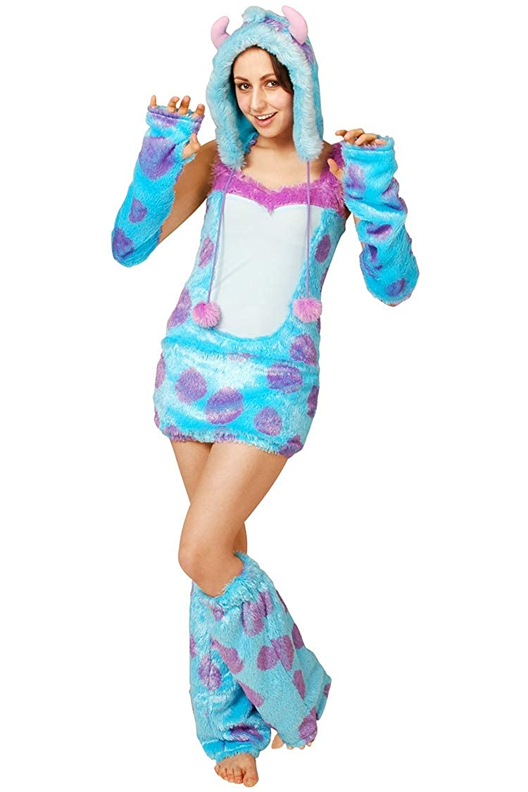 8a1b950a31 Amazon.com  Rubie s Monsters Inc Sulley Costume - Women s Adult Costume   Clothing