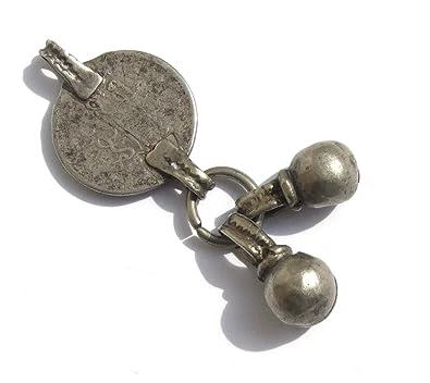 Arabische Münze Antiker Silberanhänger Amazonde Schmuck