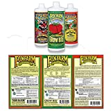 FoxFarm GLCMBX0006 Liquid Nutrient Soil Trio-Pints Grow Big, Tiger Bloom, 16 Fl Oz Combo Pack Fertilizer