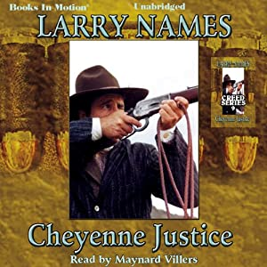 Cheyenne Justice Audiobook