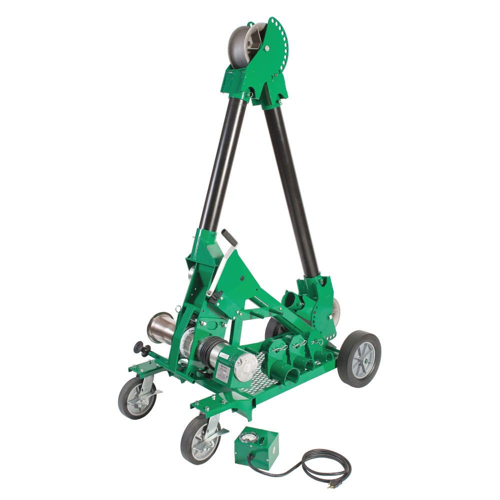 Greenlee 6806 Ultra Tugger Cable Puller: Hand Tool Knockout Punches ...
