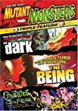 Mutant Monsters Triple Feature (The Dark / The Being / Creatures From the Abyss) by Shriek Show by Massimiliano Cerchi, Jackie Kong John Cardos