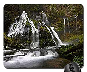 waterfalls Mouse Pad, Mousepad (Waterfalls Mouse Pad, Watercolor style)