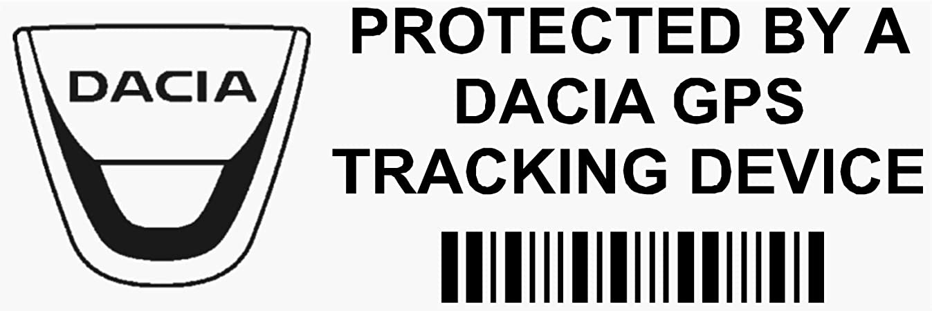 5 X Ppdaciagpsblk Gps Schwarz Tracking Gerät Sicherheit Fenster Aufkleber 87 X 30 Mm Car Van Alarm Tracker Auto