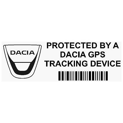 5 x ppdaciagpsblk GPS negro dispositivo de seguimiento de seguridad ventana pegatinas 87 x 30 mm