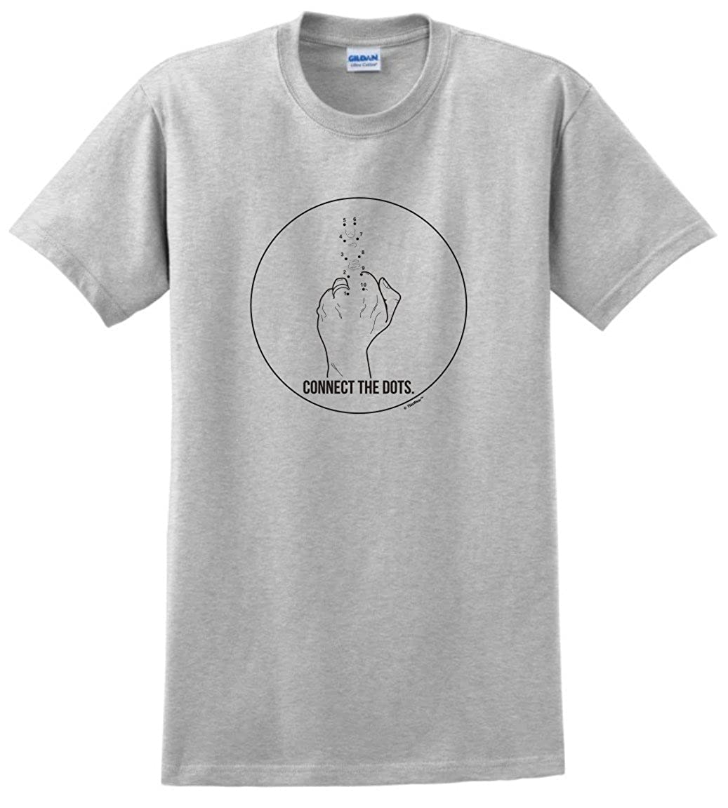 Amazon Com Thiswear Humorous Gifts Connect The Dots Middle Finger T