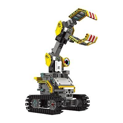 UBTECH JIMU Robot Builderbots Kit - App Enabled Stem Learning Robotic Building Block Kit (2020): Toys & Games