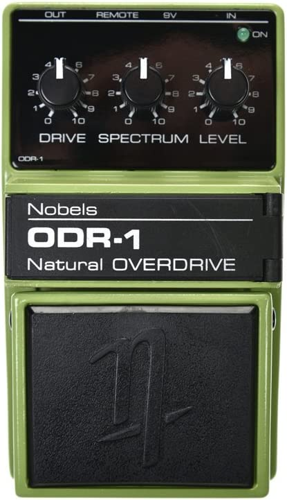 Nobels ODR-1 · Pedal guitarra eléctrica