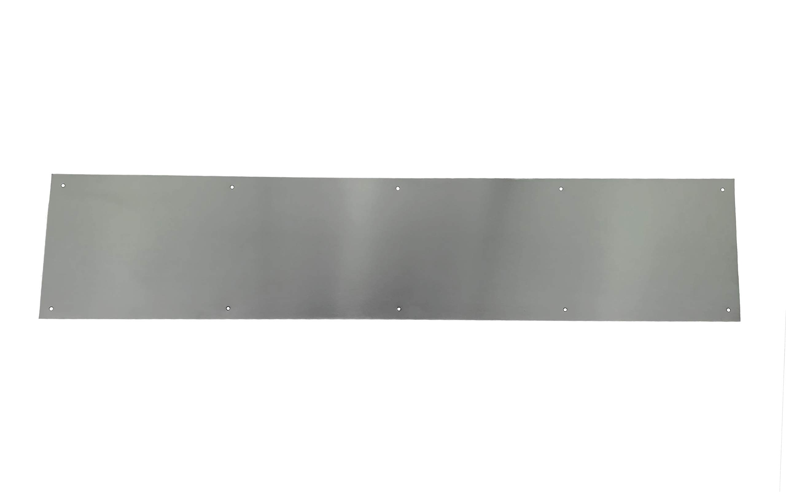 Stainless Steel Door Kick Plate - Heavy Duty Door Protection Plate Commercial Grade - Mop Plate Available in Many Sizes - Mounting Hardware Included (8'' x 28'')