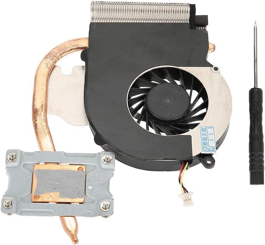Ventilador de Refrigeración de la CPU con Conector de 3 Pines 1500 RPM Ventilador del Disipador de Calor para HP Compaq CQ43 CQ57 431 630 631 Ventilador de la CPU