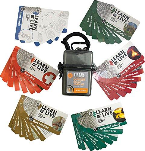 UST Learn & Live Educational Card Set, Outdoor (Skills Set)