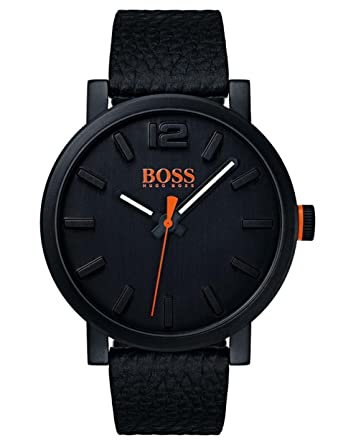 Hugo Boss Orange Reloj Análogo clásico para Hombre de Cuarzo con Correa en Cuero 1550038: Amazon.es: Relojes