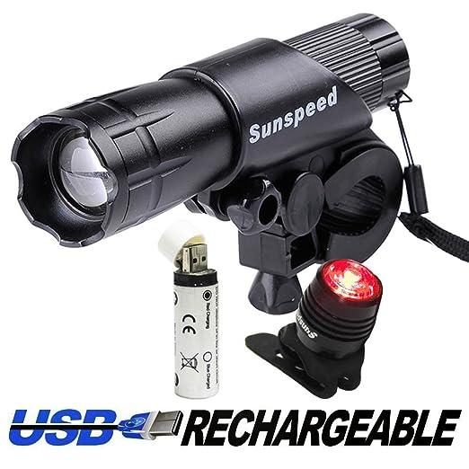 141 opinioni per SCONTO X Set Luci LED Ricaricabili a USB a Raggio Regolabile X bici Multiusi + 1