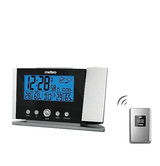 Estación Meteorológica de Casa con Reloj, Fechador, Termometro ...