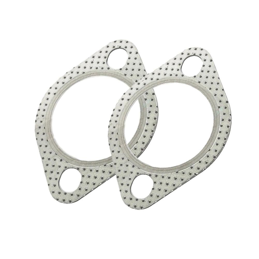 2.5 Exhaust Gasket 2-Bolt Pipe Flange High Temp Turbo Manifold ...