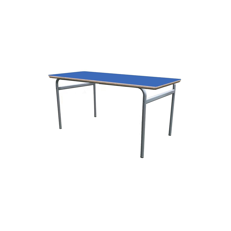 Mobeduc niños Extensible de la Mesa de Estructura, Madera, Azul Oscuro, tamaño 1, 140 x 80 x 46 cm