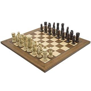 The Berkeley SCACCHI Vittoriano Russet E NOCE Set di scacchi The Regency Chess Company Ltd