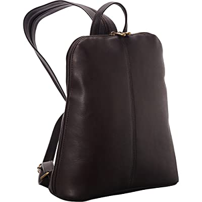 Le Donne Leather Womens iPad/eReader Backpack Sling
