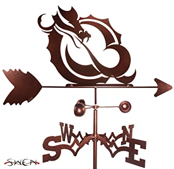 SWEN Products Hand Made MSUM Dragon Weathervane ~New~