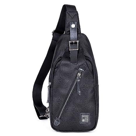 9984bd5421c4 Amazon.com   SEETECH Sling Bag Travel Shoulder Backpack Chest ...