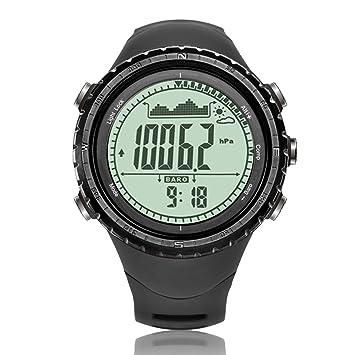 NORTH EDGE Reloj Deportivo Digital para Hombre de Militar multifunción retroiluminado, con LED, Impermeable, con cronómetro, y Alarma, Hombre: Amazon.es: ...