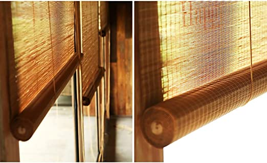 Roller Blinds Parasol Exterior Resistente al Agua, para Porche, pergola, balcón, Patio Trasero, Parasol, 60 cm, 80 cm, 100 cm, 120 cm, 140 cm de Ancho: Amazon.es: Hogar