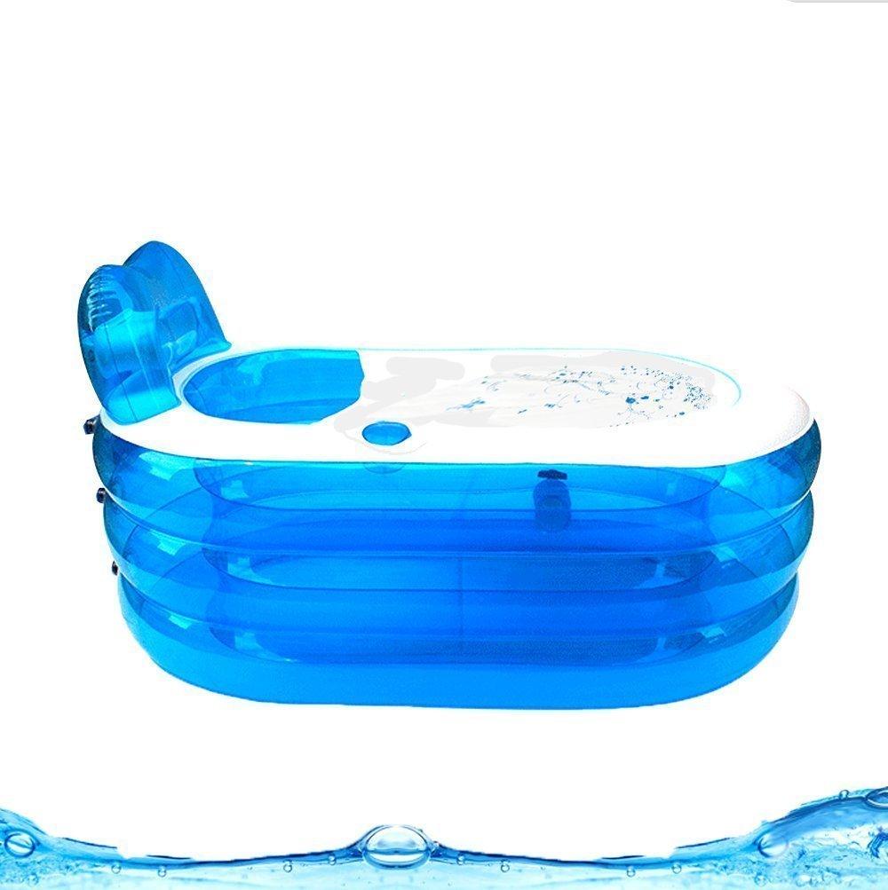 Foldable Inflatable Bath Tub Durable Adult SPA Bathtub w/Electric ...