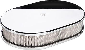 Billet Specialties 15329 Small Oval Plain Billet Air Cleaner