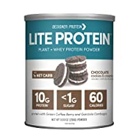 Designer Protein LITE, Low Calorie Natural Protein, Chocolate Cookies and Cream,...